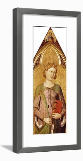 Saint Catherine-Jacopo Del Casentino-Framed Giclee Print