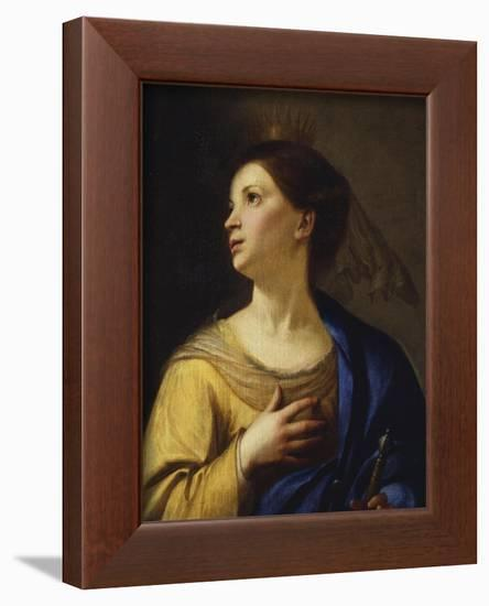 Saint Catherine-Francesco Guarino-Framed Premium Giclee Print