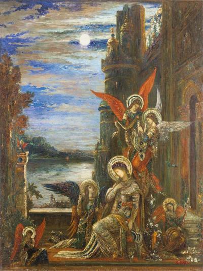 Saint Cecilia-Gustave Moreau-Giclee Print