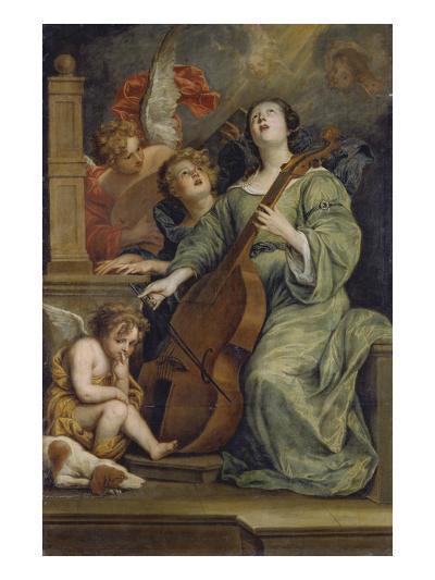 Saint Cecilia-Thomas Willeboirts-Giclee Print