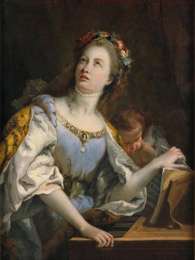 Saint Cecilia-Giambattista Tiepolo-Giclee Print