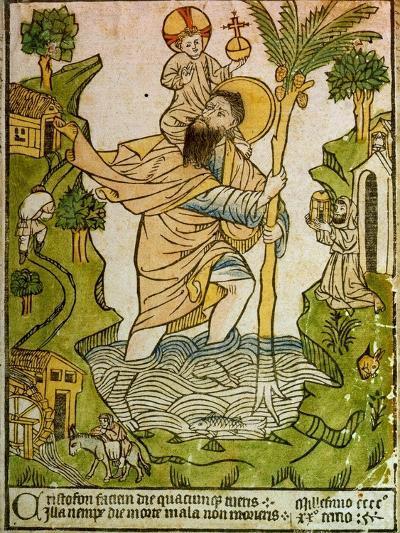 Saint Christopher, 1423--Giclee Print