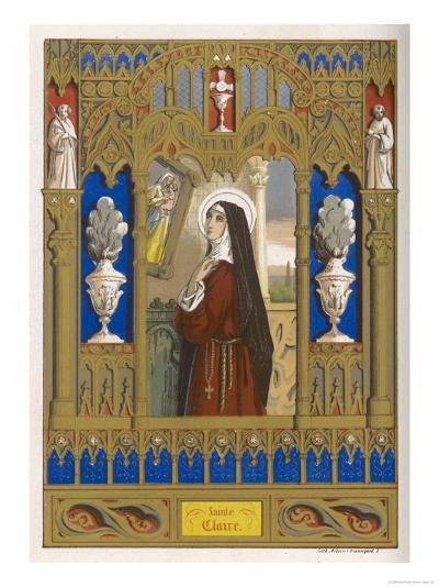 Saint Clare of Assisi Follower of S. Francesco--Giclee Print