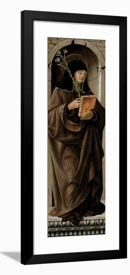 Saint Clare-Francesco del Cossa-Framed Giclee Print