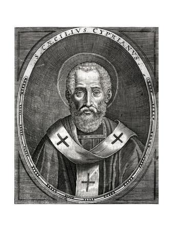 Saint Cyprian--Giclee Print