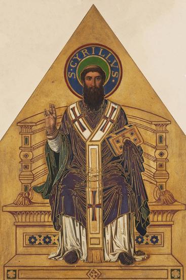 Saint Cyril-Frantisek Sequens-Giclee Print
