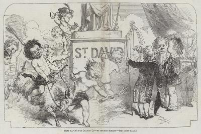 Saint David's Day, (1 March)-George Housman Thomas-Giclee Print