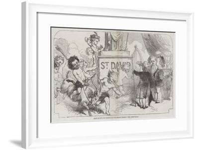 Saint David's Day, (1 March)-George Housman Thomas-Framed Giclee Print
