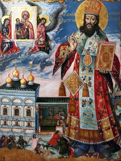 Saint Dimitry of Rostov, Second Half of the 18th C--Giclee Print