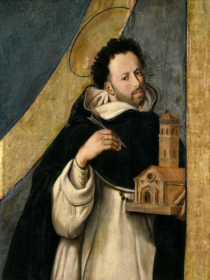 Saint Dominic, 1612-1614, Spanish School-Juan Bautista Maino-Giclee Print