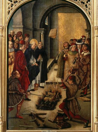 Saint Dominic or Domingo Guzman of Castile, 1170-1221 Founded Dominican Order-Pedro Berruguete-Photographic Print