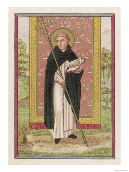 Saint Dominic Preacher Founder of the Order Named--Giclee Print