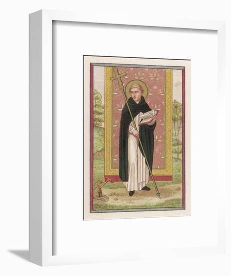 Saint Dominic Preacher Founder of the Order Named--Framed Giclee Print
