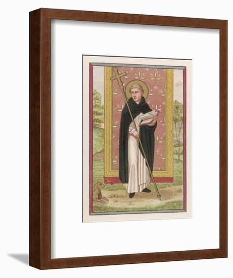 Saint Dominic Preacher Founder of the Order Named--Framed Giclee Print