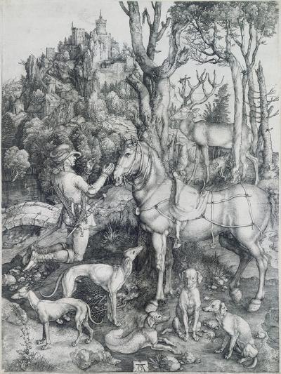 Saint Eustache-Albrecht D?rer-Giclee Print