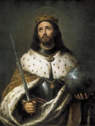Saint Ferdinand-Bartolome Esteban Murillo-Art Print