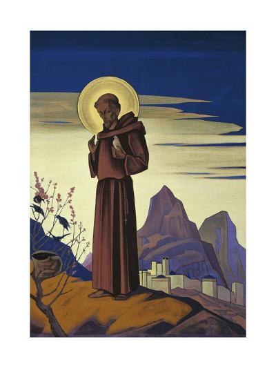 Saint Francis, 1932-Nicholas Roerich-Giclee Print