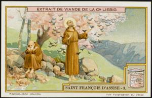 Saint Francis of Assisi - Preaching to the Birds