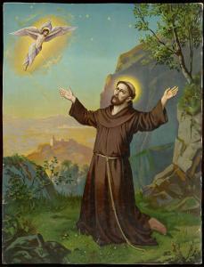 Saint Francis of Assisi - Receiving the Stigmata