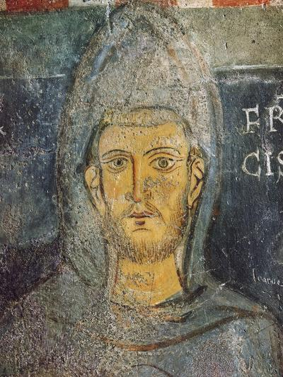 Saint Francis of Assisi, St. Gregory's Chapel, C.1224--Giclee Print