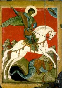 Saint George and the Dragon, Late 14th Century