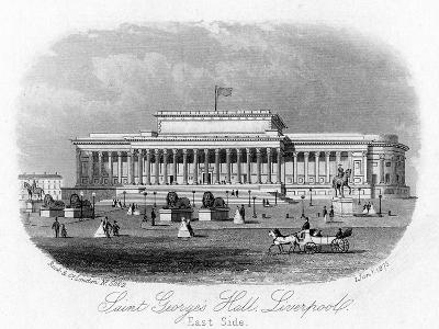 Saint George's Hall, Liverpool, 1 January 1875--Giclee Print