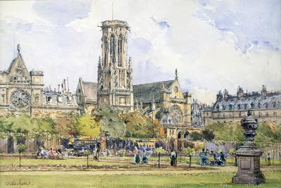Saint Germain L'Auxerrois, 1847-1908-John Fulleylove-Giclee Print