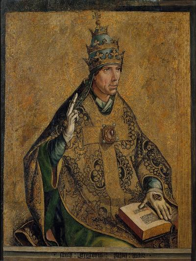 Saint Gregory the Great-Pedro Berruguete-Giclee Print