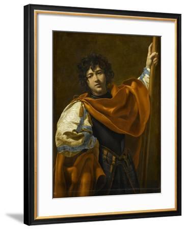 Saint Guillaume d'Aquitaine-Simon Vouet-Framed Giclee Print