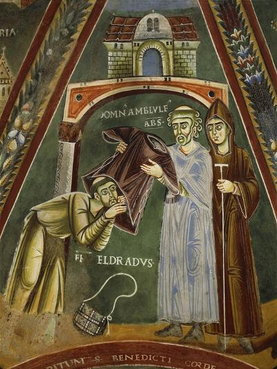 Saint Heldrad Returns from Santiago De Compostela, in the Chapel of Sts. Heldrad and Nicholas--Giclee Print