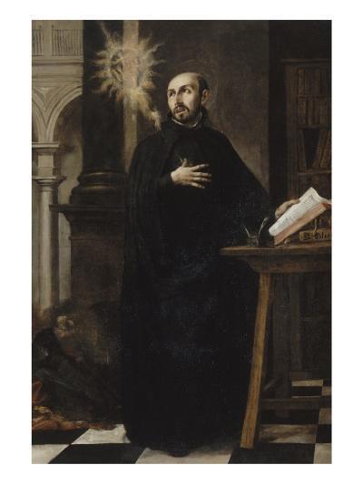 Saint Ignatius of Loyola Received the Name of Jesus-Juan de Valdes Leal-Giclee Print