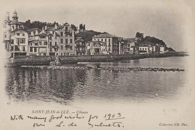 Saint-Jean-De-Luz, Ciboure--Giclee Print