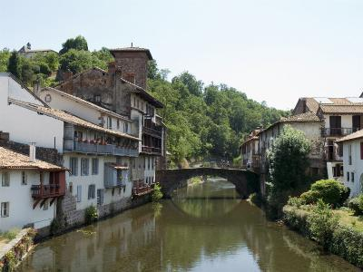 Saint Jean Pied De Port, Basque Country, Pyrenees-Atlantiques, Aquitaine, France-Robert Harding-Photographic Print