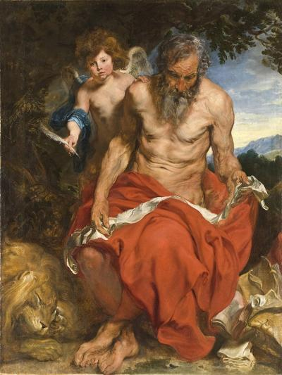 Saint Jerome, 1618-1619-Sir Anthony Van Dyck-Giclee Print