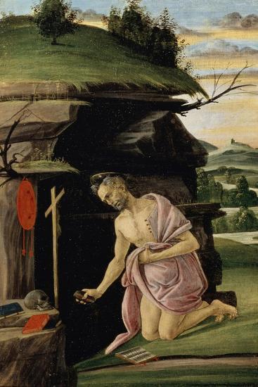 Saint Jerome, Between 1498 and 1505-Sandro Botticelli-Giclee Print
