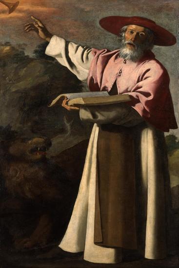 Saint Jerome, C.1640-45-Francisco de Zurbaran-Giclee Print