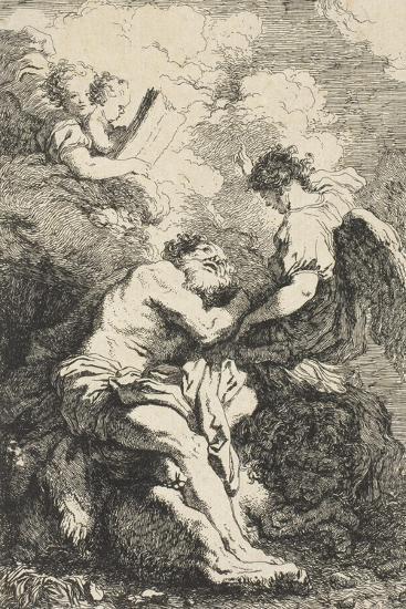 Saint Jerome, C.1761-65-Jean-Honore Fragonard-Giclee Print