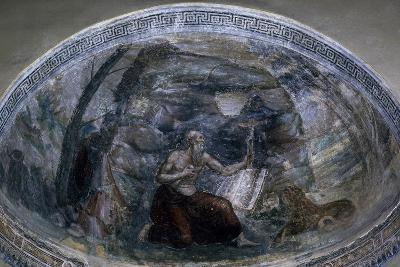 Saint Jerome in Niche of Chapel of Saint Aquilino, Basilica of Saint Lawrence, Milan, Italy--Giclee Print
