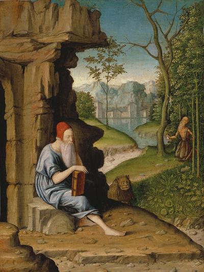 Saint Jerome in the Desert-Bartolomeo Montagna-Giclee Print