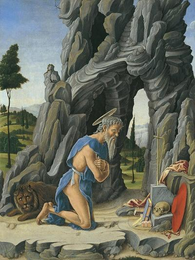 Saint Jerome in the Desert-Marco Zoppo-Giclee Print