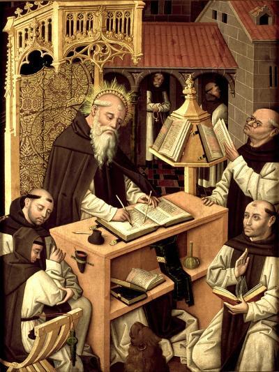 Saint Jerome in the Scriptorium, Ca 1485--Giclee Print