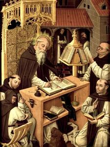 Saint Jerome in the Scriptorium, Ca 1485