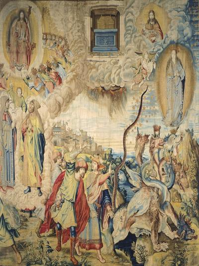 Saint John Is Commanded to Measure the Temple--Giclee Print