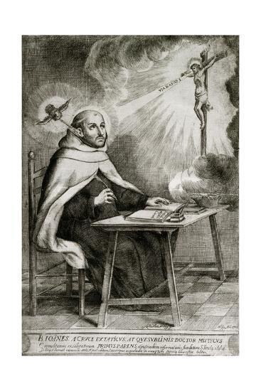 Saint John of the Cross--Giclee Print