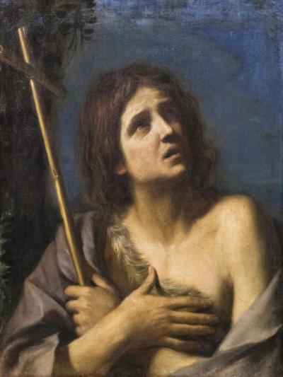 Saint John the Baptist, Francesco Barbieri known as Il Guercino,1591-1666--Giclee Print
