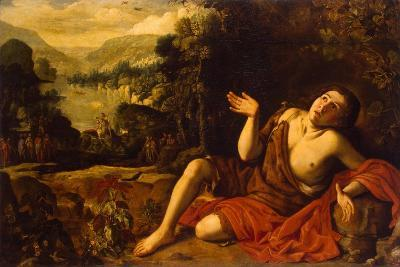 Saint John the Baptist in the Desert, 1630-Francisco Collantes-Giclee Print