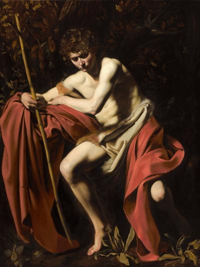 Saint John the Baptist in the Wilderness, 1604-5-Michelangelo Merisi da Caravaggio-Giclee Print