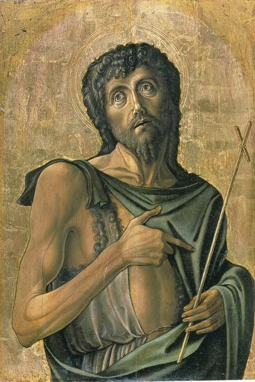 Saint John the Baptist-Alvise Vivarini-Giclee Print