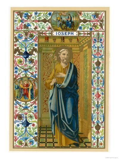 Saint Joseph Putative or Nominal Father of Jesus of Nazareth Husband of Mary Woodworker by Trade--Giclee Print