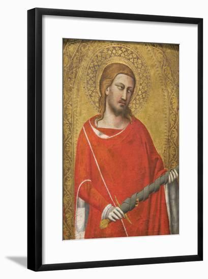 Saint Julian-Taddeo Gaddi-Framed Art Print